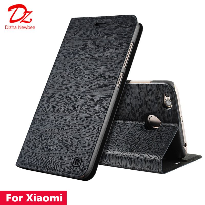 For Xiaomi Redmi 4 6 Pro 4A 4X 5 5A 6A S2 Redmi Note 5 6 pro 4 4X 5A 3 Leather Case for Redmi 5 Plus Flip cover card slot stand