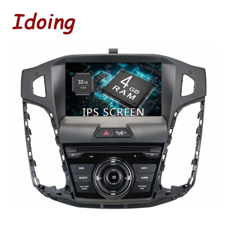 Idoing 1Din Android 8.0 For Ford Focus 2012-2014 4G+32G 8Core 8