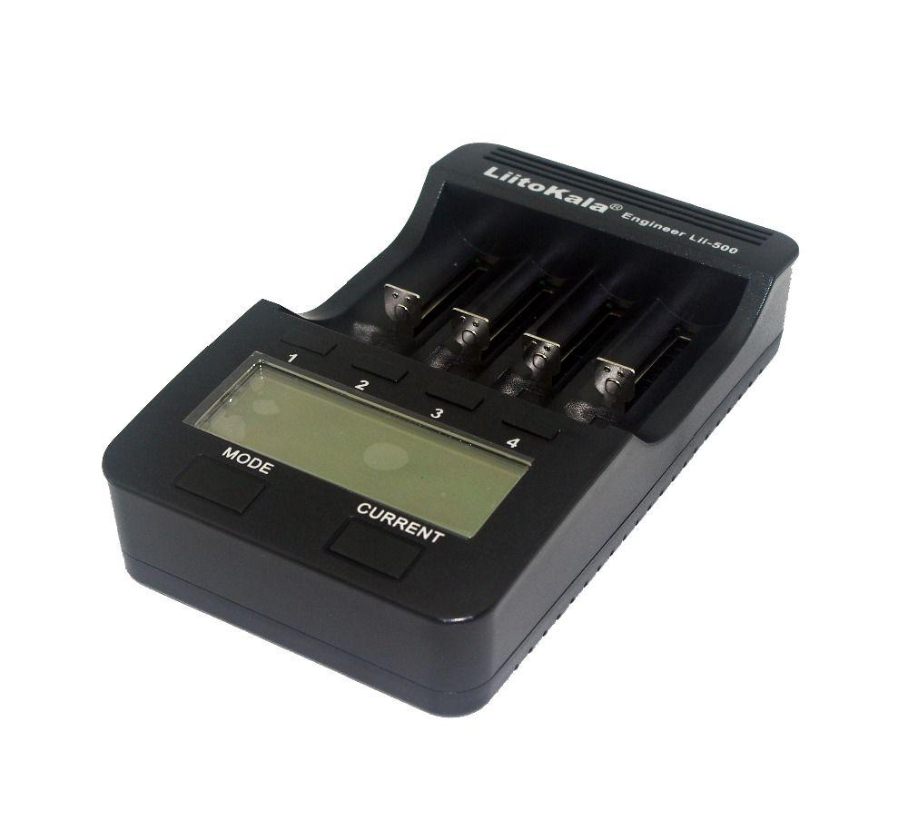 2018 Liitokala Lii-500 NiMH Battery Charger,3.7V 18650 18350 18500 17500 10440 26650 1.2V AA AAA 5V output LCD smart charger