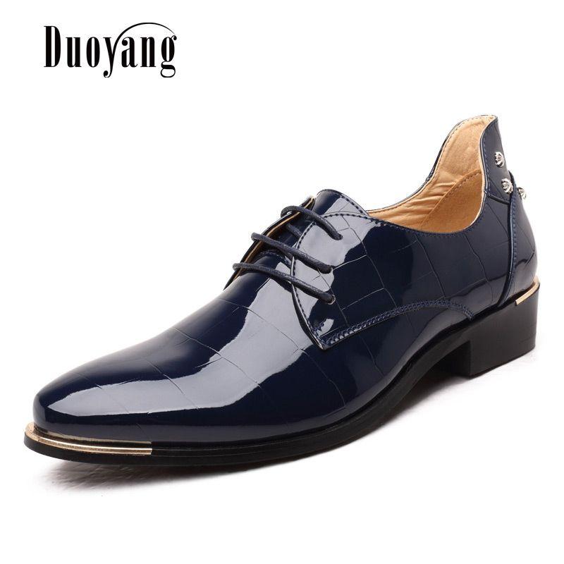 Для мужчин обувь 2016 новые модные Искусственная кожа Повседневная Для мужчин обувь