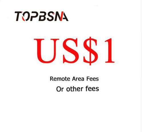 TOPBSNA Remote gebühr Aufpreis, fracht oder Zusätzliche kosten und so weiter