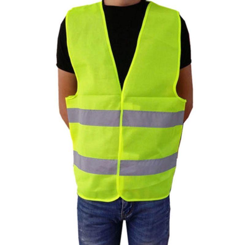 Laufen Outdoor Sicherheit Kleidung Rennen Weste Hohe Sichtbarkeit Reflektierende Fluoreszierenden Weste