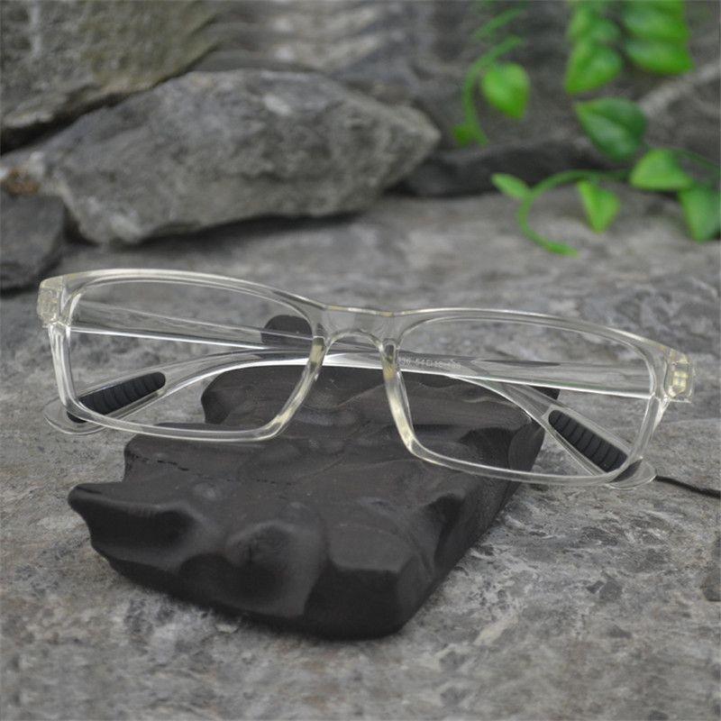 Vazrobe TR90 прозрачный Очки Для мужчин 2017, женская обувь ясно Оправы для очков оптическая линза предписание очки Nerd высокое качество