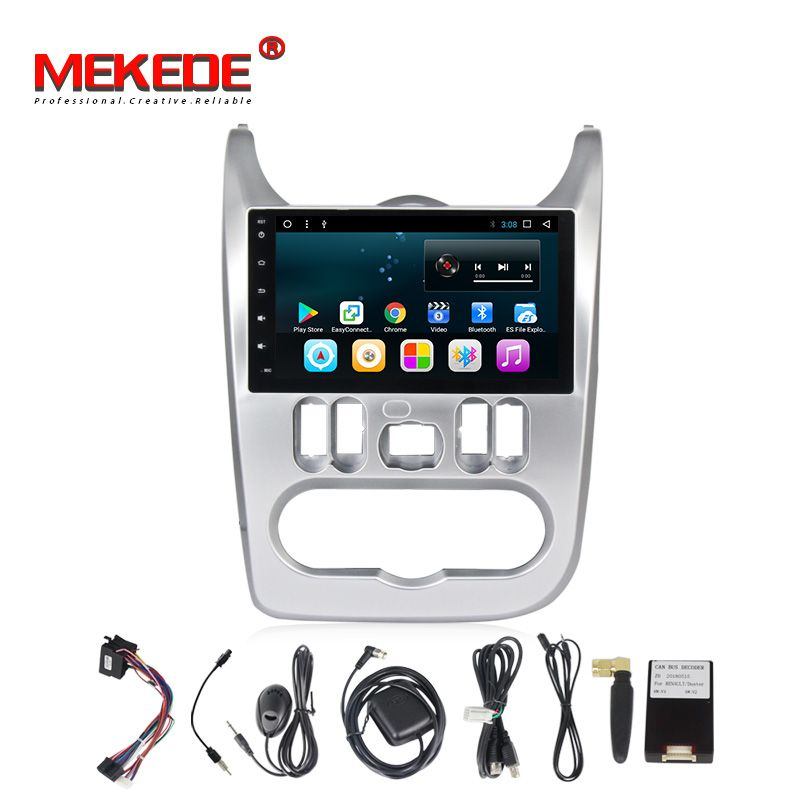 T3 Android8.1 Car multimedia player for Renault Logan 2009-2013 Sendero Dacia Logan 2008-2012 Duster Sandero Nissan NP200 2009