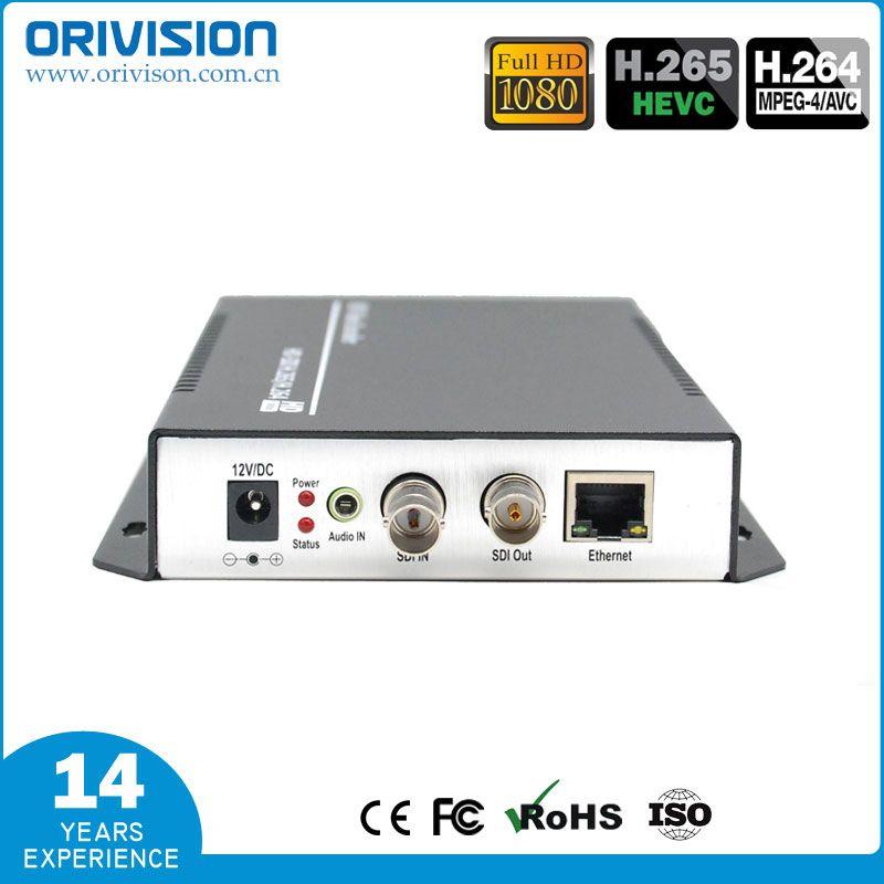 ZY-ES201 H.265 & H.264 SDI Video Encoder unterstützung HD/3G SDI Zu IP Live-Streaming Video Audio Encoder HTTP, RTSP, RTMP, UDP, ONVIF
