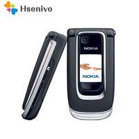 Reacondicionado desbloqueado 6131 Original teléfono móvil Nokia 6131 barato GSM Cámara FM Bluetooth Teléfono de buena calidad de Teclados