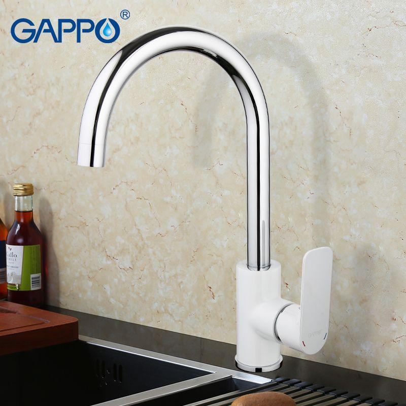Gappo раковина смеситель для кухни одно отверстие на бортике Кухня Смесители Смеситель кран Torneira Para Cozinha