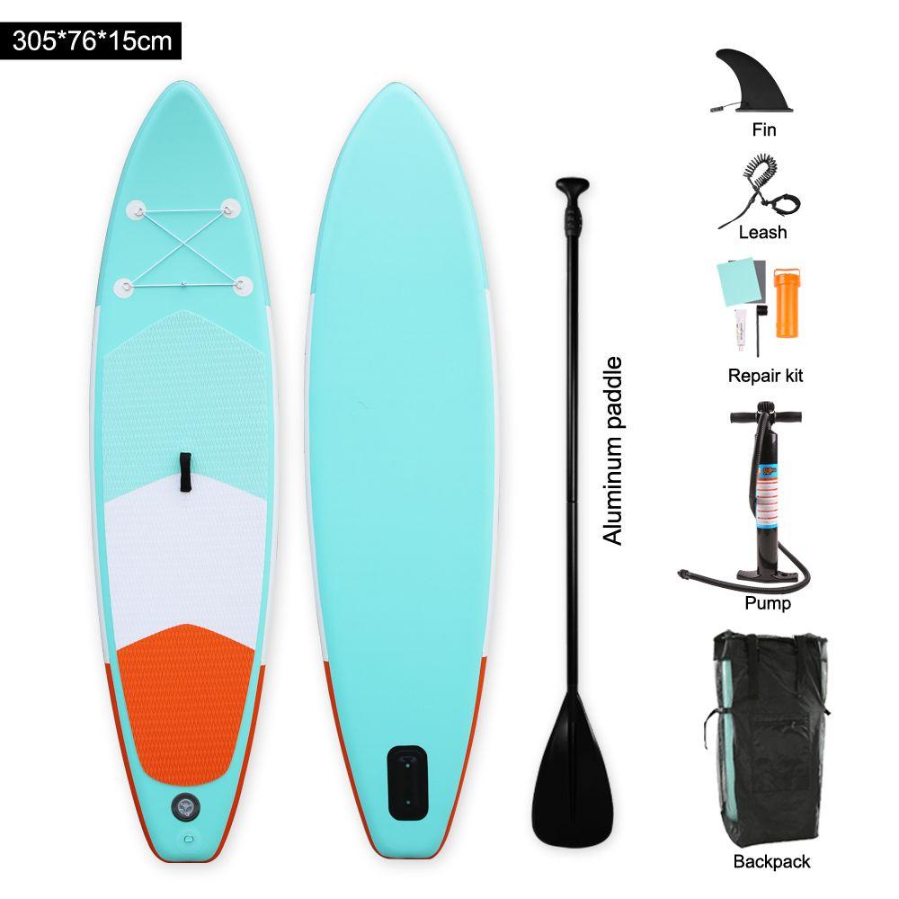 Heytur new design Aqua color Inflatable SUP Stand up Paddle Board iSUP Inflatable Paddle Board
