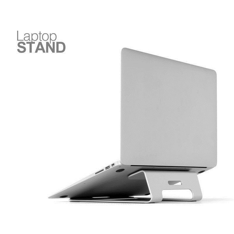 Silber Universal Aluminium Laptop Stand Tablet Halter Halterung Kühlung Schreibtisch Pad für MacBook Pro Air 11 bis 15