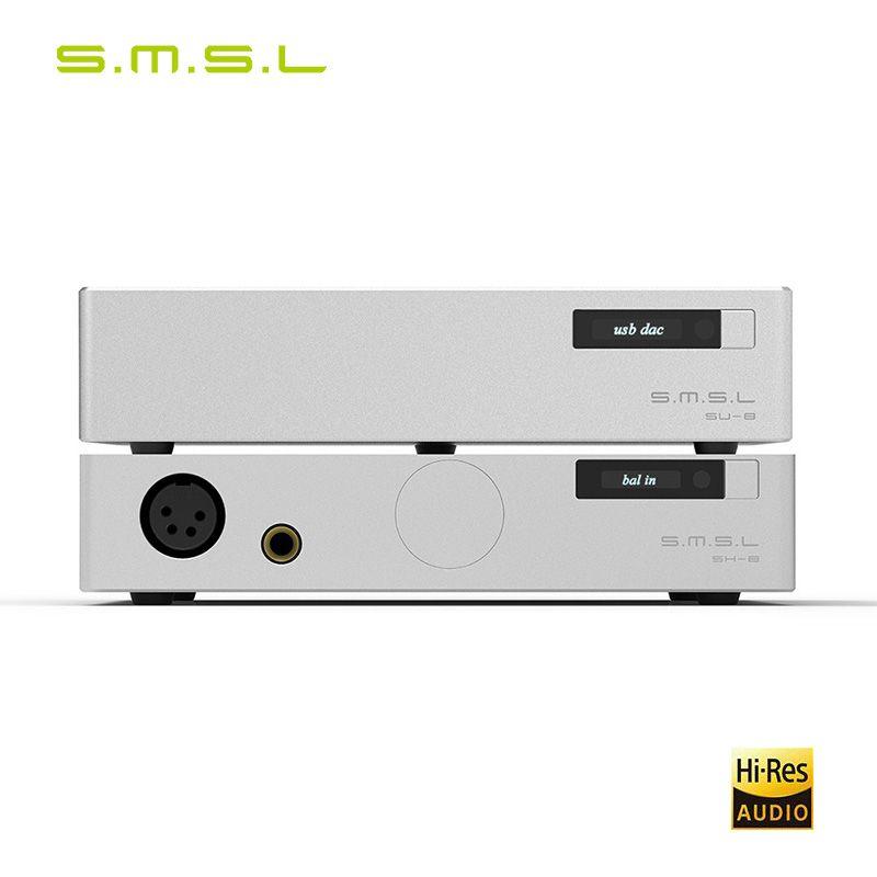 SMSL 88 Anzug SU-8 2ES9038Q2M DSD Balance DAC Decoder Und SH-8 Hohe Leistung Kopfhörer Verstärker