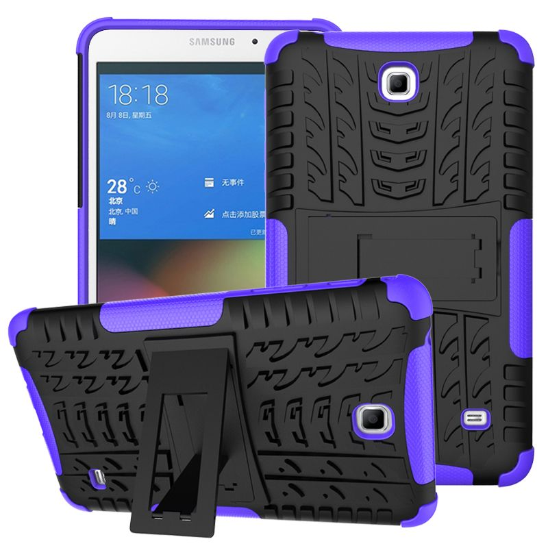 For Samsung Galaxy Tab 4 7.0 T230 T231 T235 Tough Impact Case Heavy Duty Armor Hybrid Anti-knock Silicon Hard Back Cover
