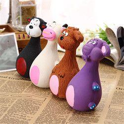 Surpresa Preço de Brinquedos do animal de Estimação do Filhote de Cachorro Dog Toy Squeaky Squeaky Plush Som forma Animal de Brinquedo da Mastigação Tipos diferentes Padrões Dod do animal de Estimação BRINQUEDO Do Gato