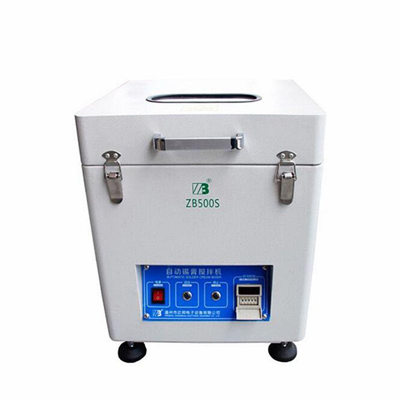 Zinn Creme Mischer Automatische löten SMT ausrüstung lotpaste mixer 500g für PCB montage