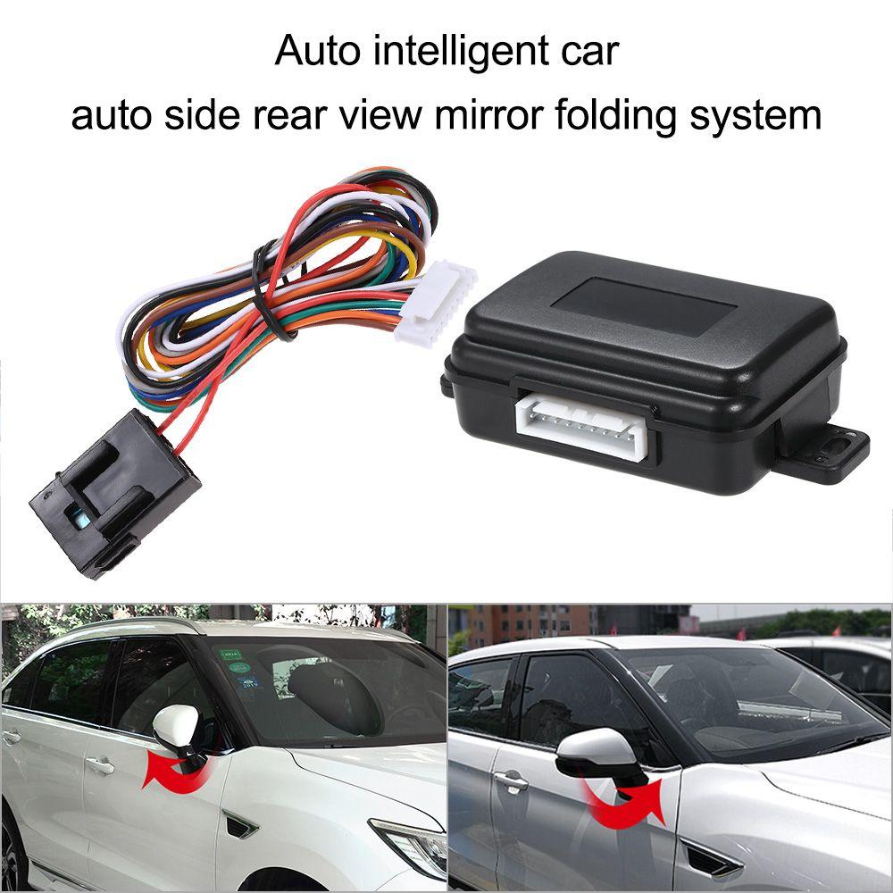 Intelligent Auto Авто сторона зеркало заднего вида складной Системы