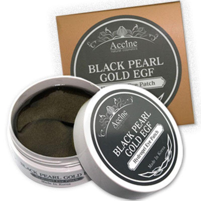 PETITFEE Noir Perle Or Hydrogel Eye Patch 60 pcs Gel masque Soins De La Peau Diluer Le Noir Ridules Des Yeux Masque Pour Les Yeux reconstitution