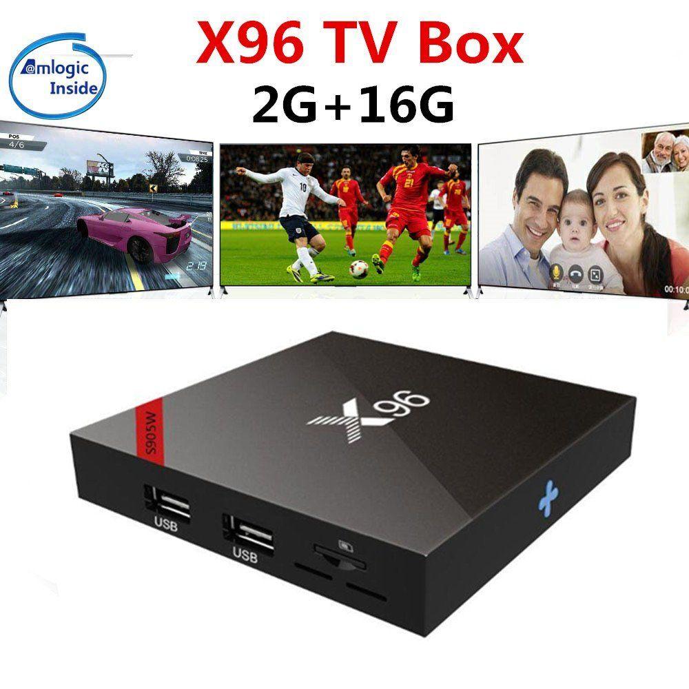 X96 mini X96W TV BOX Smart Android 7.1 Amlogic S905W Quad Core 4K HD WiFi 2.4GHz 1G 8G Media Player X96mini Set top box pk A95X