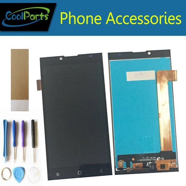 1PC/Lot For Prestigio Grace Q5 PSP5506 Duo PSP 5506 PSP5506 LCD Display Screen+Touch Screen Digitizer Black Color With Tool&<font><b>Tape</b></font>