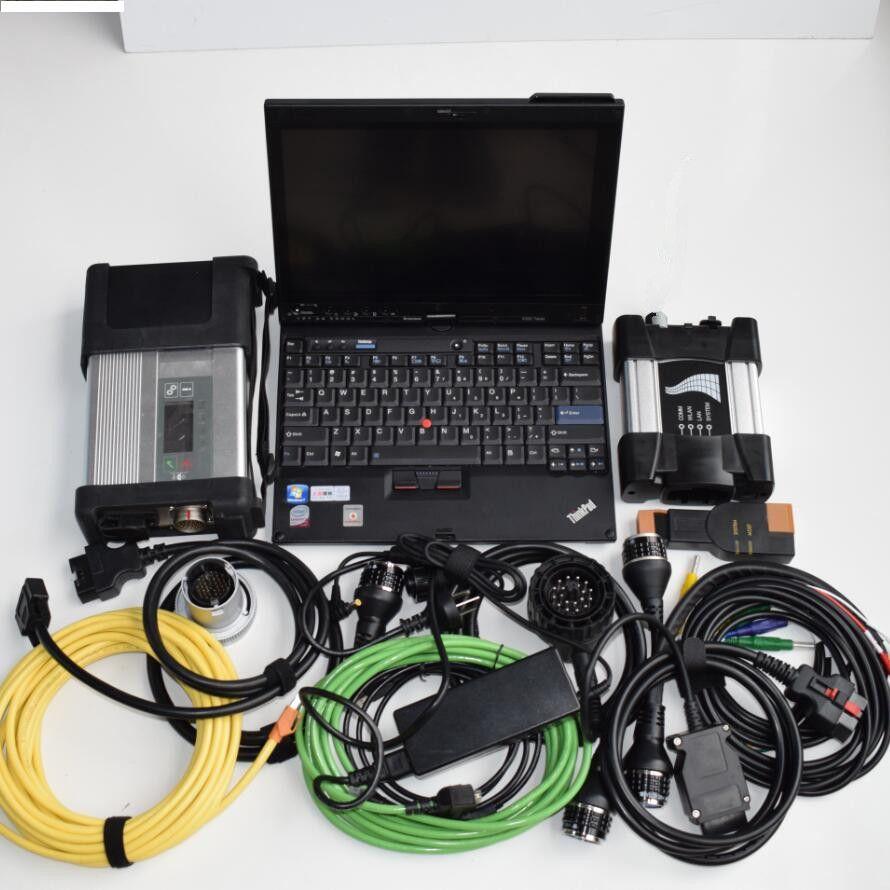 Mb stern c5 für bmw icom nächste diagnose 2in1 mit software hdd 1tb in einem x200t laptop ram 4g touch screen hohe qualität