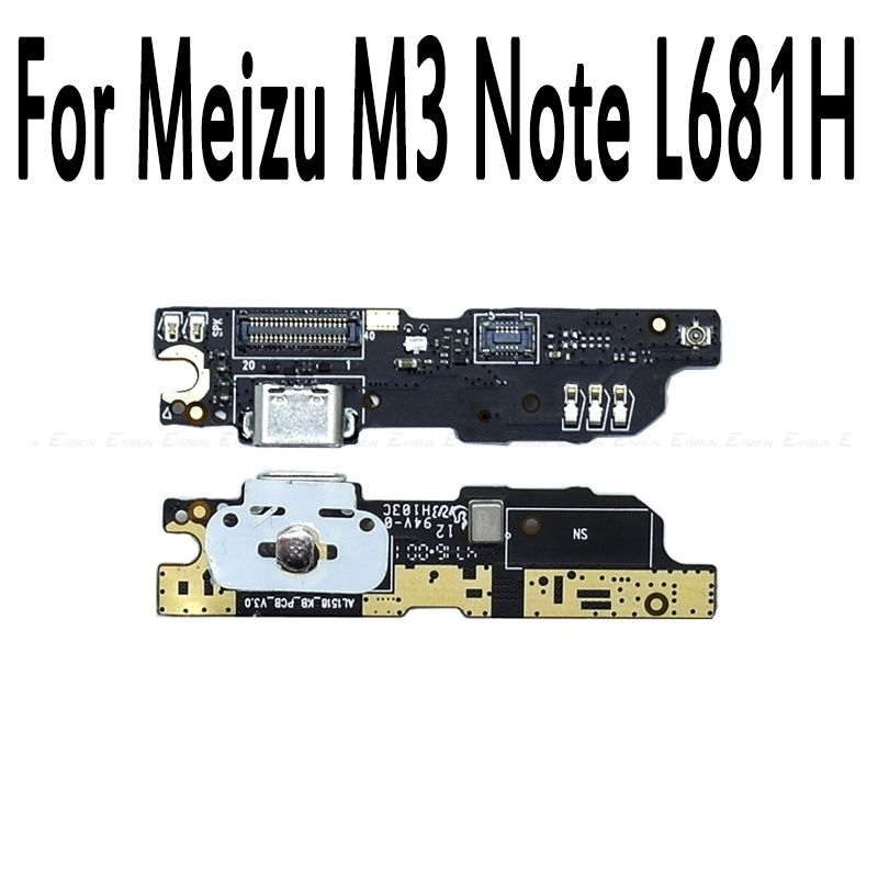 100% New For Meizu M3 Note L681h Charger Micro USB Port Dock Charging Connector Plug Flex Cable With MIC