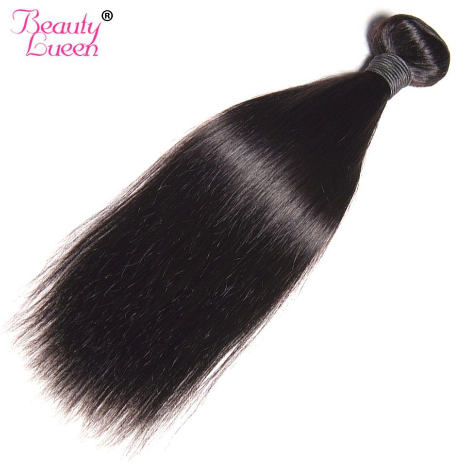 Straight Hair Bundles Brazilian Hair Weave Bundles Natural Color Can Buy 3/4 Piece Non Remy Beauty Lueen Human Hair Extension
