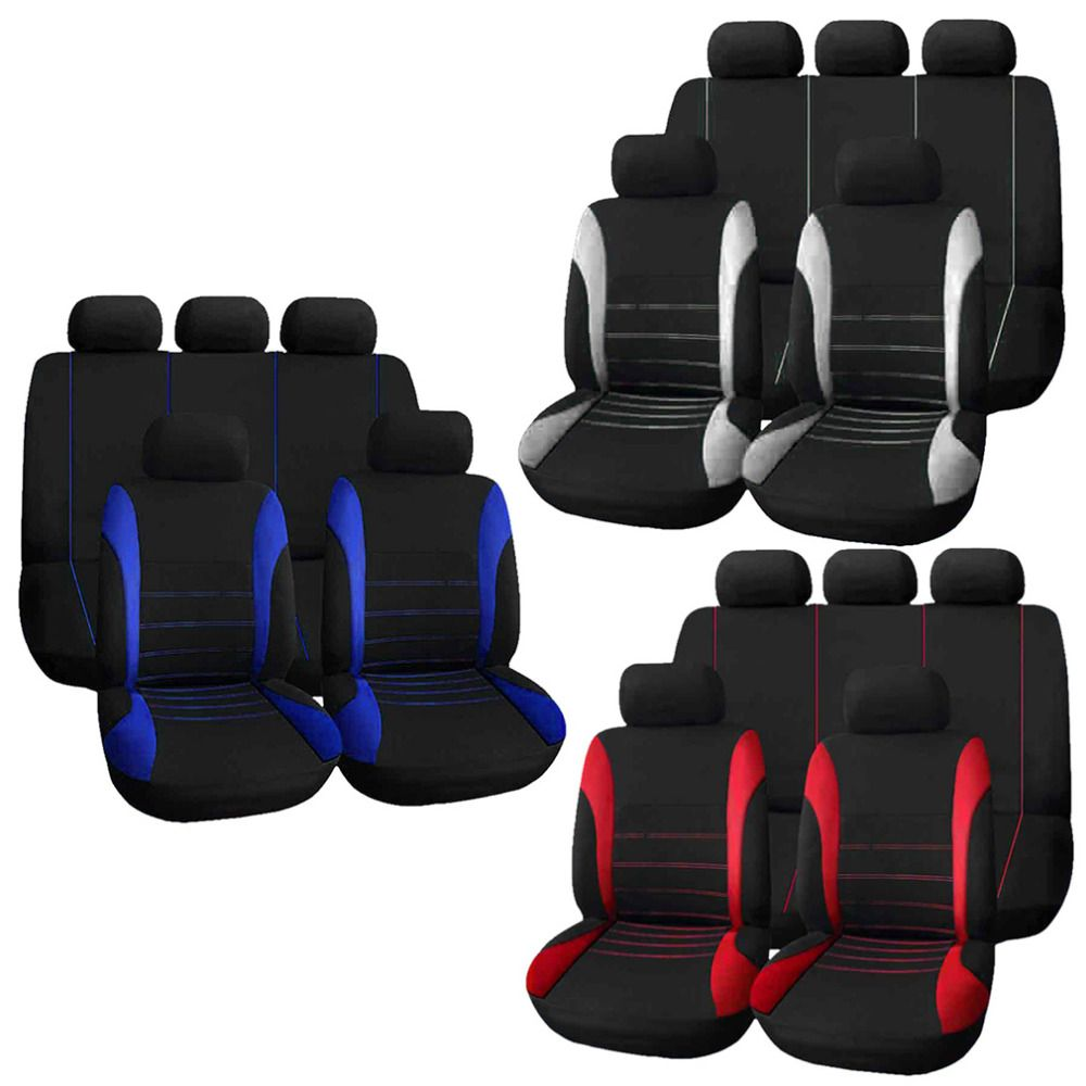 Universal Protector Universal Car Black Seat Cushion mat one front car seat cover Anti Slip car cover for car suv