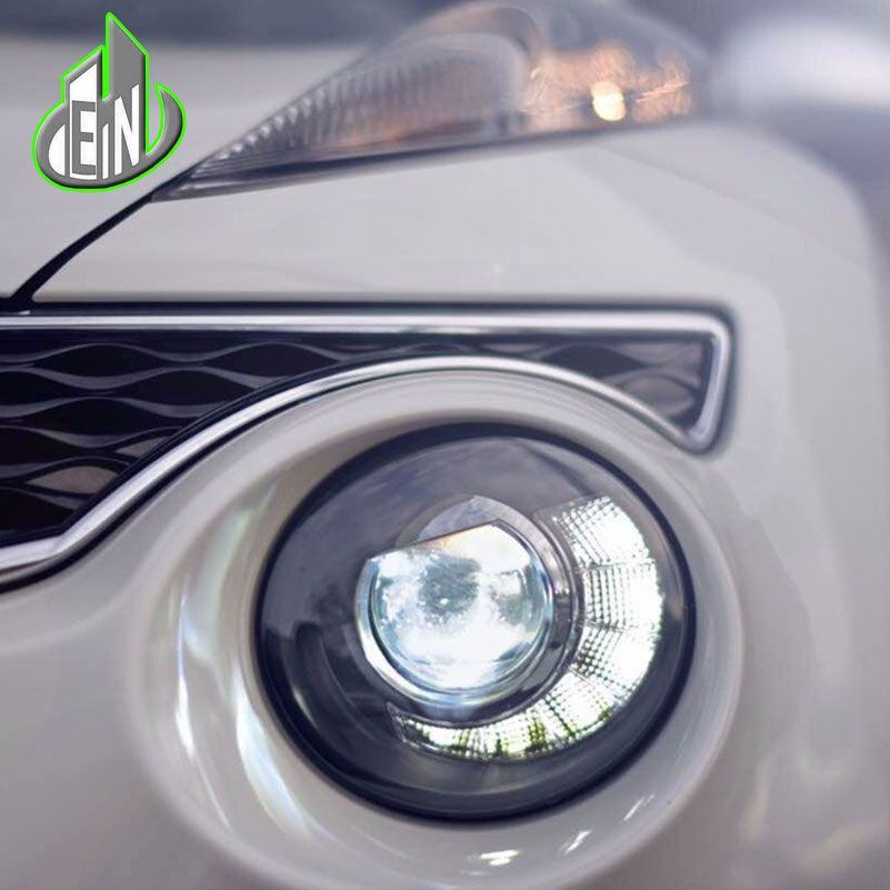 Car Styling for Nissan JUKE headlights 2013 2014 2015-2018 led ESQ headlight Head Lamp led drl projector headlight h7 hid