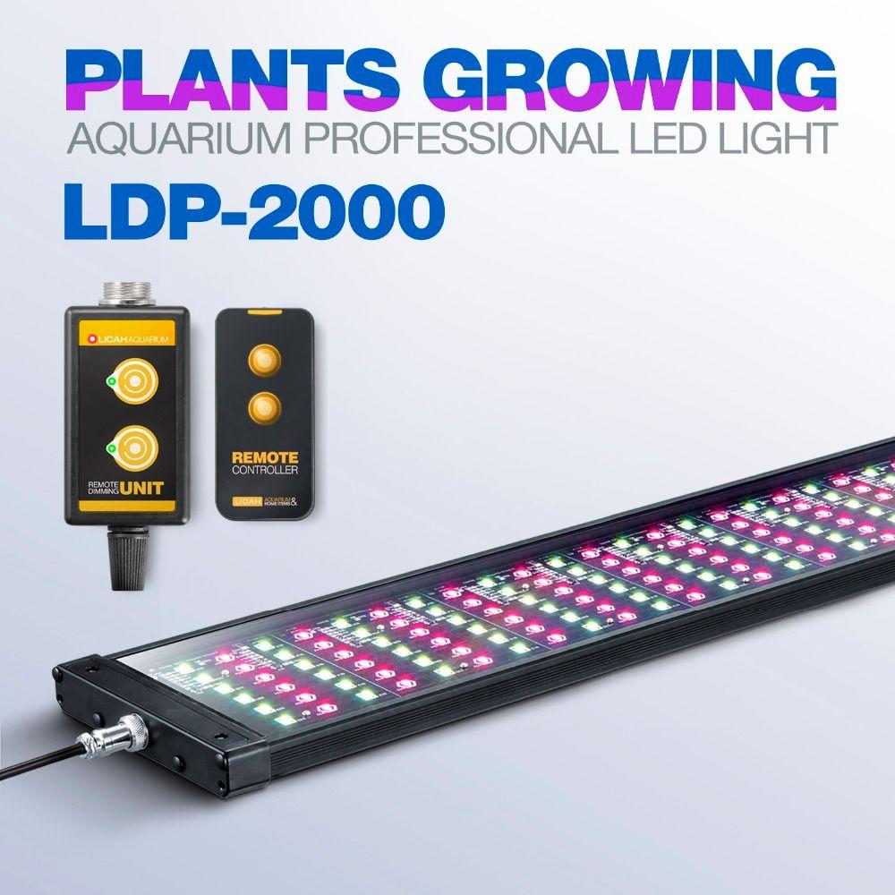 LICAH Süßwasser Aquarienpflanzen LED LICHT LDP-2000 Freies Shpping