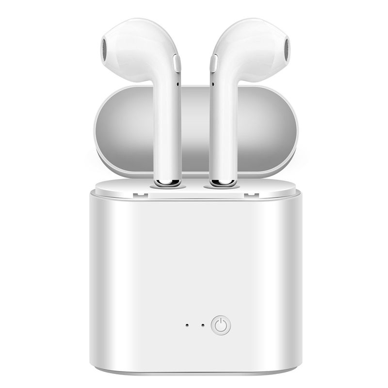 i7 i7s TWS Wireless Bluetooth Earphones In-Ear Music Earbuds Set Stereo Headset for iphone X 6 7 8 Samsung Xiaomi Retail Box