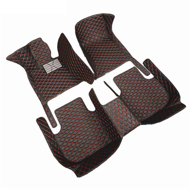 HeXinYan Custom Car Fußmatten für Audi alle modell A1 A3 A8 A7 S8 R8 TT SQ5 A6 Q3 Q5 q7 A4 A5 S5 S6 S7 S3 SR4-7 auto zubehör