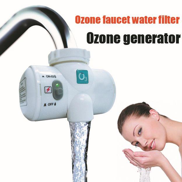 Selbst Lauch Leitungswasser Ozongenerator für wasser zuivering Wasseraufbereitung Filter Ozon-ic Wasserhahn Wasserhahn Ozon Luftreiniger Generator