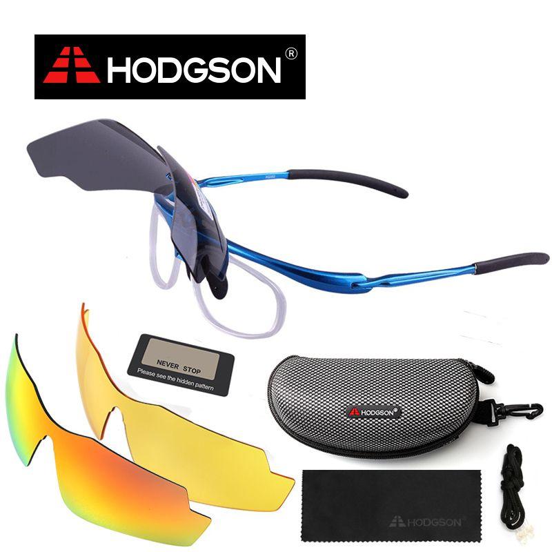 Ходжсон 1002 Новое поступление мужской и женский поляризационные Велоспорт очки велосипед Цикл Очки Солнцезащитные очки спортивные очки с ф...