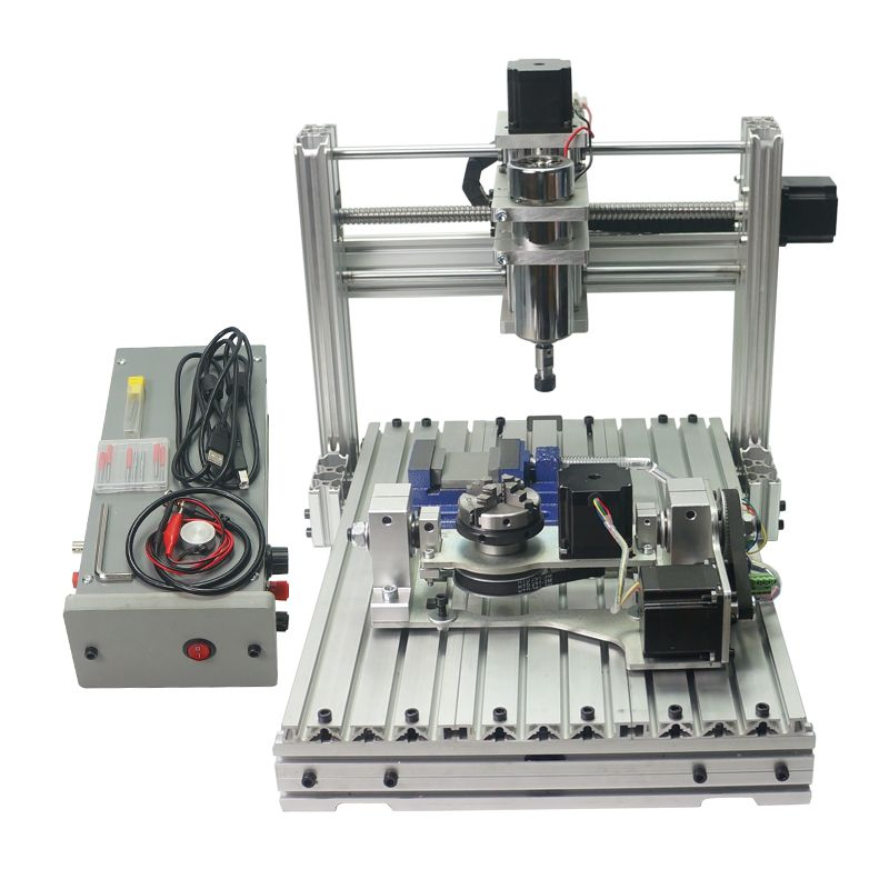 5 achse DIY Mini CNC gravur maschine 3040 CNC router für metall