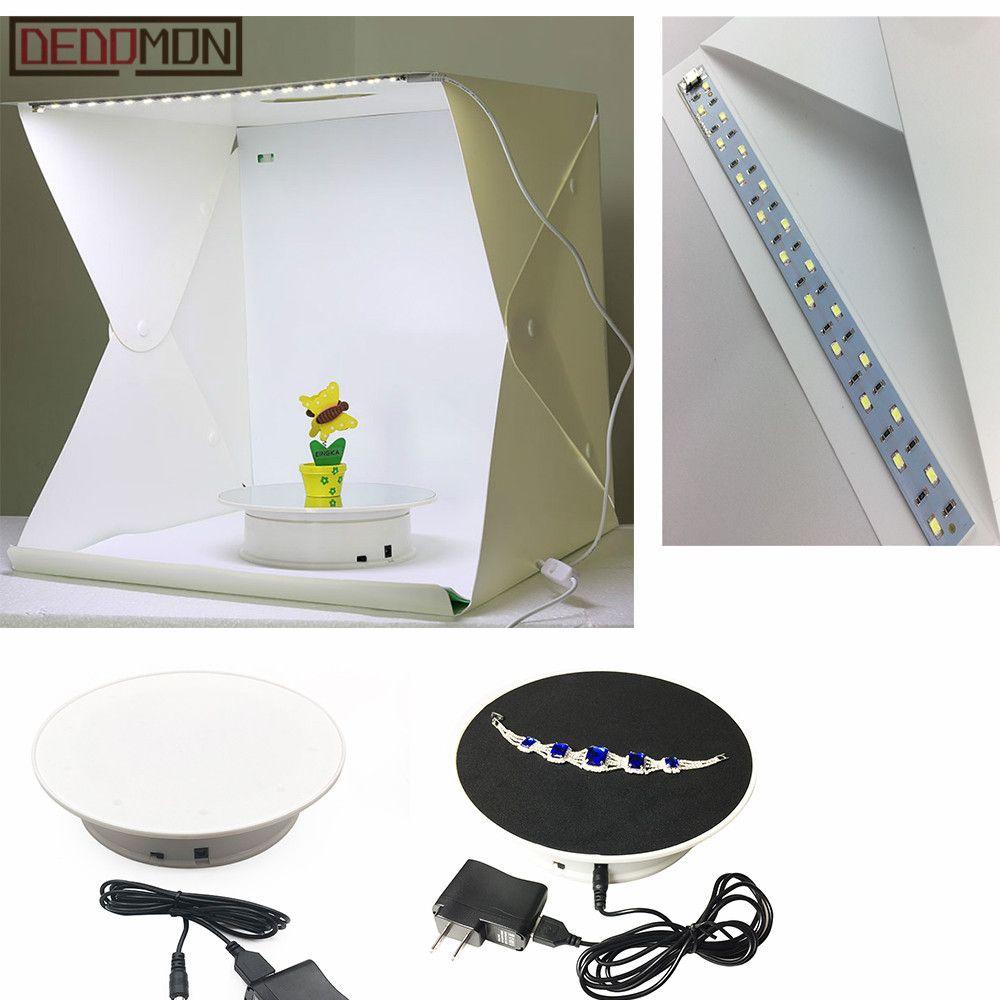 20 cm 360 Degrés Électrique Tournante Turntable présentoir pour Photographie charge maximale 1.5 kg vidéo tir props Platine Batterie