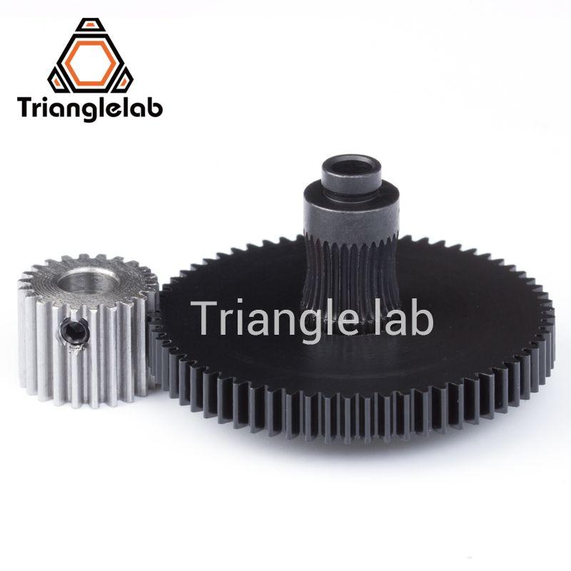 Trianglelab 3d printer <font><b>reprap</b></font> Titan Extruder spare parts gear Hobb (Hardened Steel) & stepper motor mk8 i3