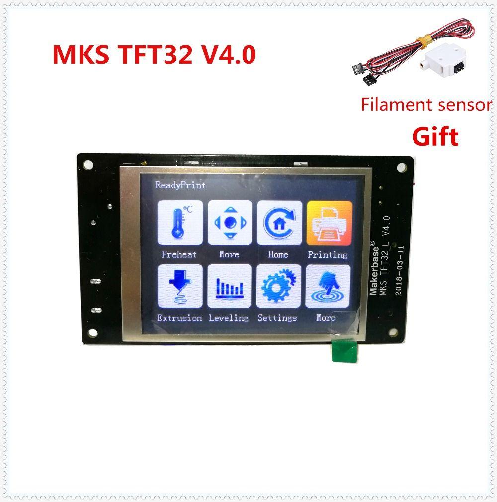 MKS TFT32 V4.0 tactile écran splash lcd intelligent contrôleur toucher TFT 32 afficher RepRap TFT moniteur creen lcd pour 3D imprimante