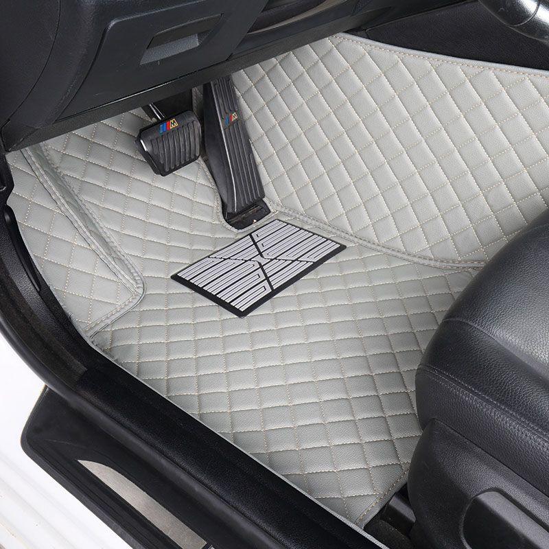 Personnalisé de voiture tapis de sol pour BMW F10 F11 F15 F16 F20 F25 F30 F34 E60 E70 E90 1 3 4 5 7 Series GT X1 X3 X4 X5 X6 Z4 3D voiture de coiffure