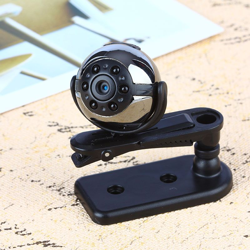 ET SQ9 Mini Camera 1080P HD Digital Camera Infrared Night Motion Detection Micro Camera 360 Degree Rotation Video Recorder <font><b>Cam</b></font>