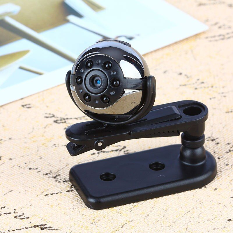 ET SQ9 Mini Camera 1080P HD Digital Camera Infrared <font><b>Night</b></font> Motion Detection Micro Camera 360 Degree Rotation Video Recorder Cam