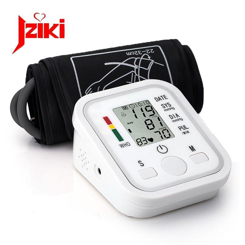 Home Health Care 1pcs Digital Lcd Upper Arm Blood Pressure Monitor Heart <font><b>Beat</b></font> Meter Machine Tonometer for Measuring Automatic