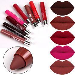 MISS ROSE Brand Matte Lipstick Nude Lipstick Make Up Waterproof Long Lasting Red Lips Beauty Cosmetics Lip Color Pencil