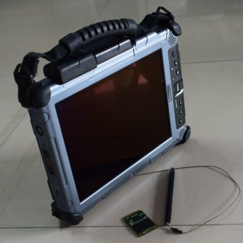Xplore ix104 c5 tablet (i7 4g) auto diagnosecomputer arbeitet mit MINI SSD mit batterie für mb-stern c4/c5 für icom