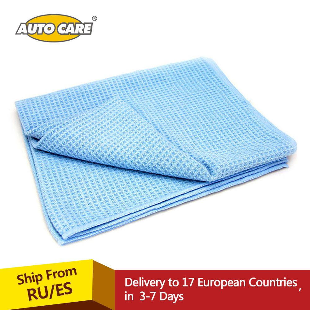 Auto Care The Best Water Magnet Microfiber Drying Towel with Waffle Weave Design for Car, Bath, Kitchen & Dogs 23.6