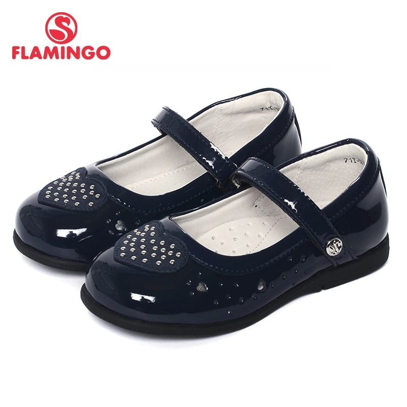 FLAMINGO 2017 New Design Arrival Spring & Summer Hot Sale Casual Shoes Soft Leather Ankle-wrap Girl Nude Shoes 71T-XY-0117