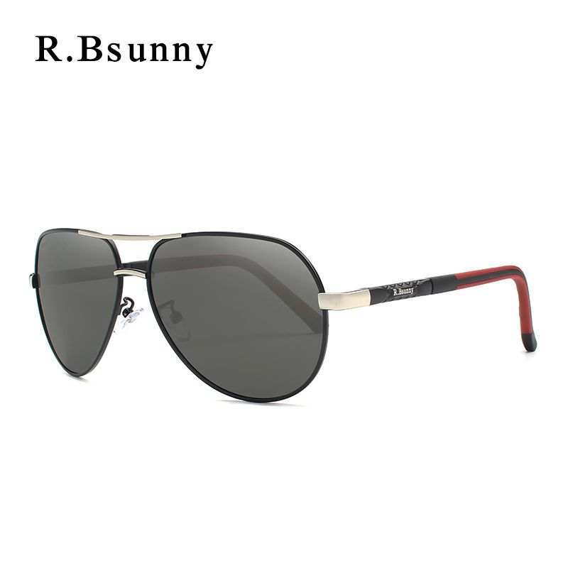 R.Bsunny Aluminum Magnesium Sunglasses Men Polarized Coating Mirror Sun Glasses Male spectacles Accessories For Men R7614 oculos