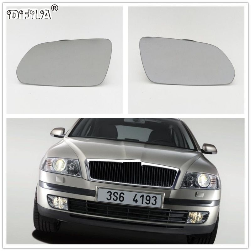 For Skoda Octavia MK2 A5 2004 2005 2006 2007 2008 Car-Styling Heated Wing Side Mirror Glass
