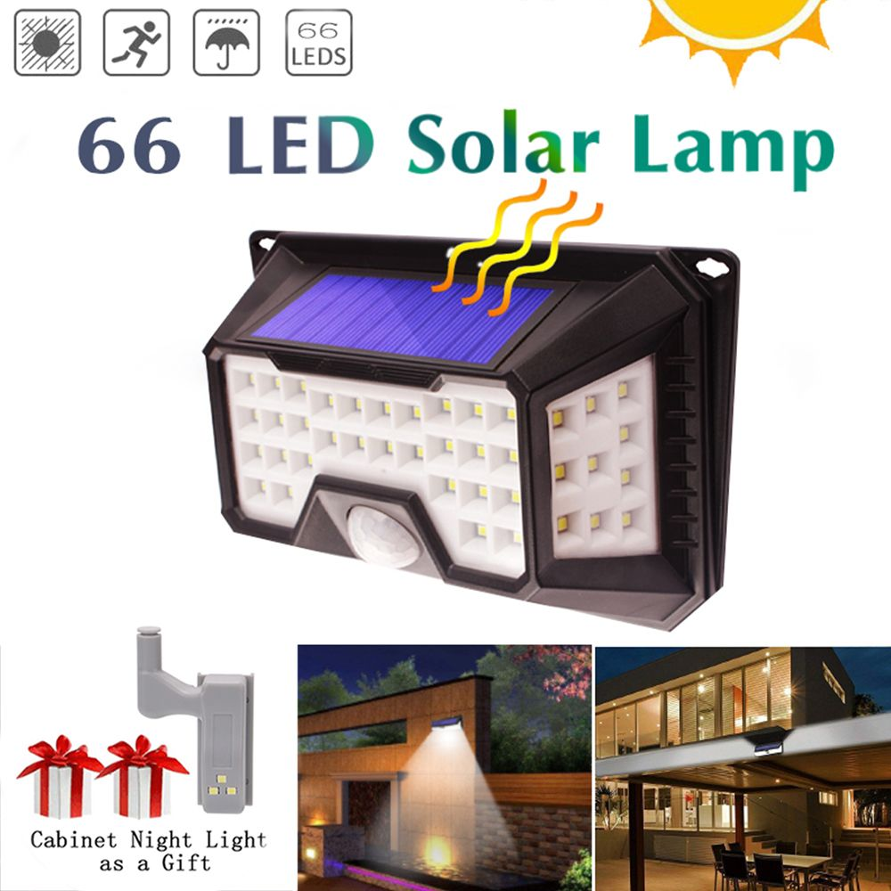 LED Solar Lights bulb Outdoor Lighting for Garden Decoration Waterproof Solar Lamp Motion Sensor pathway Emergency Wall Lampion