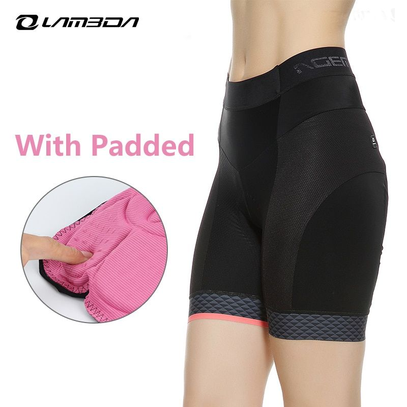 cycling shorts women with Padded Quick Dry Sport Shorts Comfortable mtb mountain road bike shorts