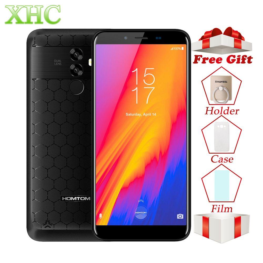 HOMTOM S99 5.5inch Android 8.0 Mobile Phones MTK6750 Octa Core RAM 4GB ROM 64GB Big Battery Dual SIM OTA OTG GPS 16MP Smartphone