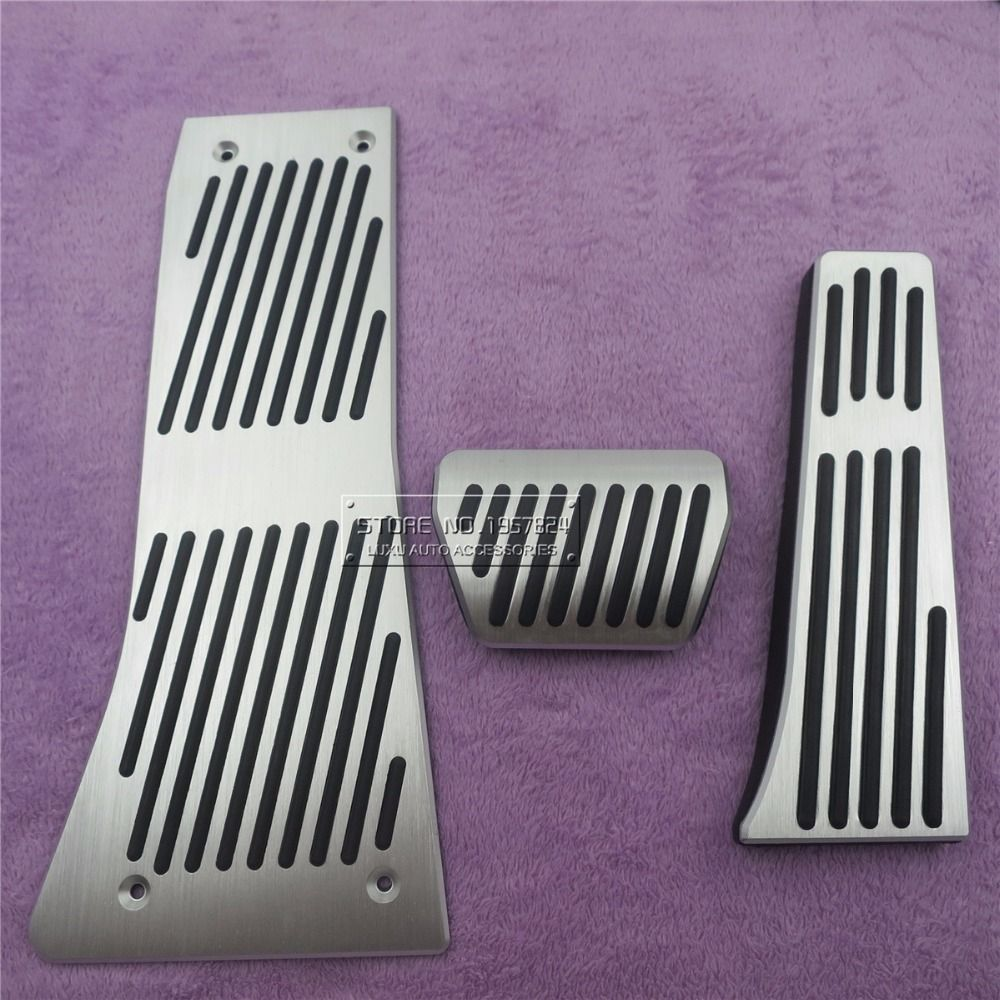 Car Accessories For BMW X5 X6 Series E70 E71 E72 F15 AT Accelerator Brake Foot Rest Pedal Pads,Styling Gas Refit Sticker styling