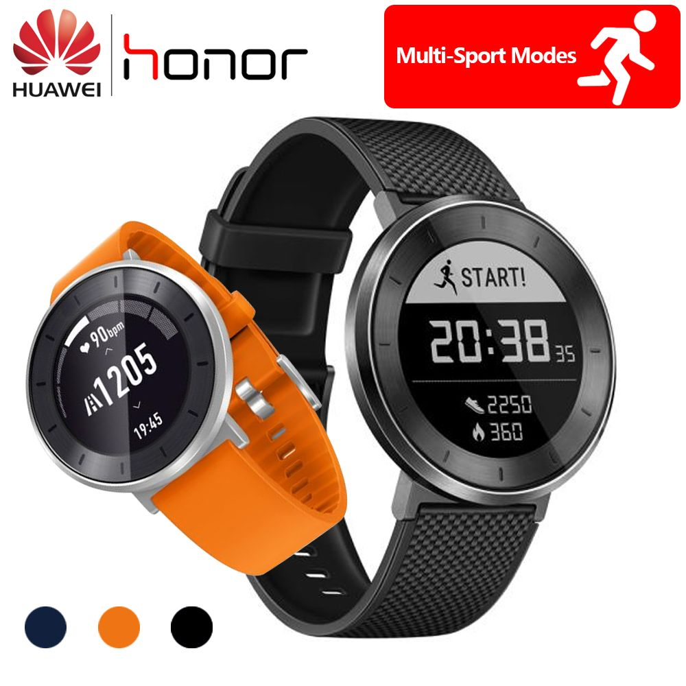 Original Huawei Honor S1 Smart Watch 5ATM Waterproof Swimming Long Battery Continuous Heart Rate Monitor Fit Tracker S1 Watch